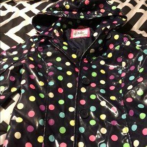 Girls size 10 rain jacket